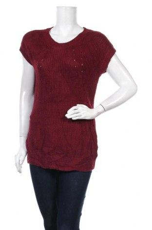 Дамски пуловер A.N.A., Размер S, Цвят Червен, Акрил, Цена 5,74лв.