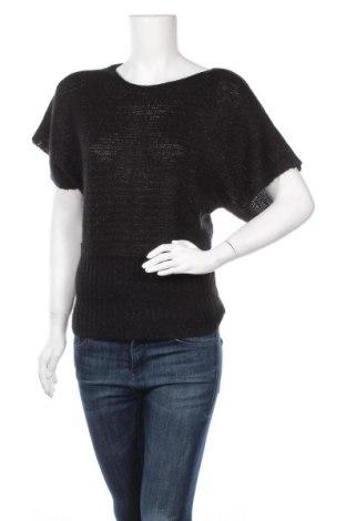 Дамски пуловер A.N.A., Размер M, Цвят Черен, 93% акрил, 7% други нишки, Цена 5,88лв.