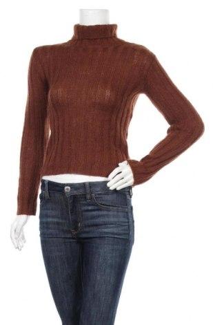 Γυναικείο πουλόβερ Agnes B., Μέγεθος S, Χρώμα Καφέ, Τιμή 22,90€