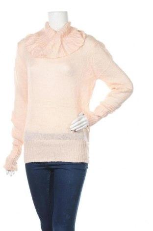Дамски пуловер Alfred Sung, Размер M, Цвят Розов, Акрил, Цена 9,87лв.