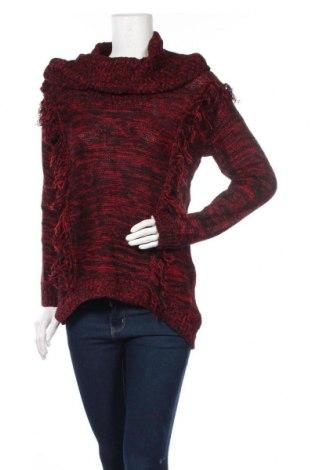 Дамски пуловер Allison Brittney, Размер M, Цвят Червен, Акрил, Цена 23,94лв.