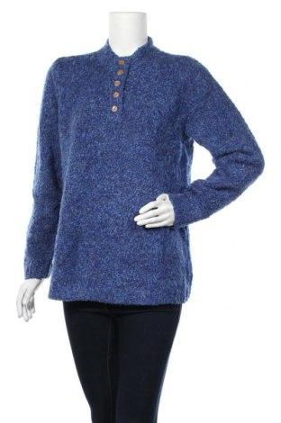Дамски пуловер Appleseed's, Размер L, Цвят Син, 70% полиестер, 30% акрил, Цена 24,15лв.