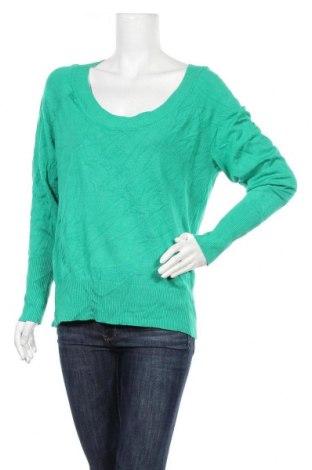 Дамски пуловер Attention, Размер XL, Цвят Зелен, 78% вискоза, 22% полиамид, Цена 27,30лв.