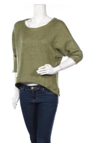 Дамски пуловер Canyon River, Размер XL, Цвят Зелен, Акрил, Цена 25,20лв.