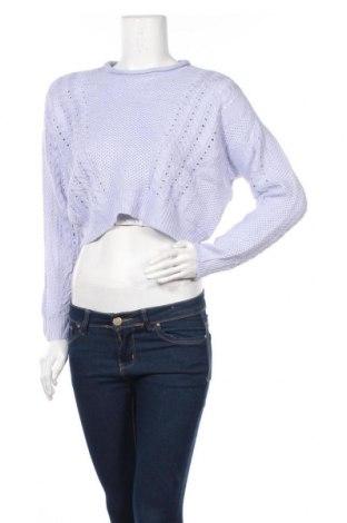 Γυναικείο πουλόβερ Charlotte Russe, Μέγεθος S, Χρώμα Μπλέ, Ακρυλικό, Τιμή 5,23€