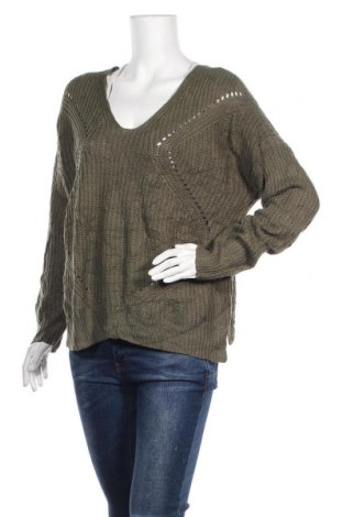 Γυναικείο πουλόβερ Charlotte Russe, Μέγεθος L, Χρώμα Πράσινο, Ακρυλικό, Τιμή 16,62€