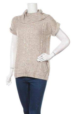 Γυναικείο πουλόβερ Cleo, Μέγεθος S, Χρώμα  Μπέζ, 89%ακρυλικό, 6% πολυαμίδη, 5% μαλλί, Τιμή 7,27€