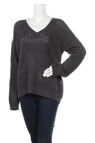 Γυναικείο πουλόβερ DKNY Jeans, Μέγεθος XXL, Χρώμα Γκρί, 59% βαμβάκι, 41%ακρυλικό, Τιμή 22,90€