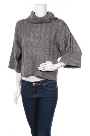 Γυναικείο πουλόβερ DKNY Jeans, Μέγεθος S, Χρώμα Γκρί, 50% πολυαμίδη, 25% μαλλί, 25%ακρυλικό, Τιμή 22,41€