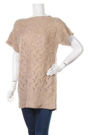 Дамски пуловер Downeast, Размер M, Цвят Бежов, 35% полиестер, 30% вискоза, 30% полиамид, 5% ангора, Цена 5,51лв.