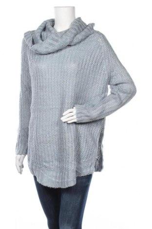 Дамски пуловер Dreamers, Размер S, Цвят Син, 55% памук, 45% акрил, Цена 6,56лв.