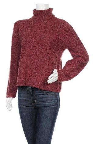 Дамски пуловер Dressbarn, Размер M, Цвят Червен, 74% акрил, 21% полиестер, 5% вълна, Цена 12,60лв.