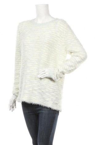 Дамски пуловер Ed.it.ed, Размер XL, Цвят Бял, Акрил, полиестер, Цена 6,30лв.