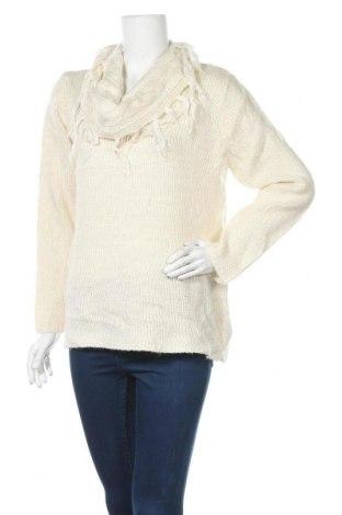 Дамски пуловер Elementz, Размер XL, Цвят Екрю, 97% акрил, 3% метални нишки, Цена 30,35лв.