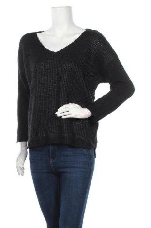 Γυναικείο πουλόβερ Ellen Tracy, Μέγεθος L, Χρώμα Μαύρο, 76%ακρυλικό, 20% πολυεστέρας, 4% μεταλλικά νήματα, Τιμή 10,46€