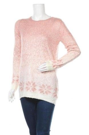 Дамски пуловер F&F, Размер M, Цвят Розов, 100% акрил, Цена 10,29лв.