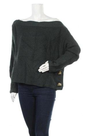 Γυναικείο πουλόβερ Forever 21, Μέγεθος L, Χρώμα Πράσινο, 68%ακρυλικό, 29% πολυεστέρας, 3% ελαστάνη, Τιμή 16,66€