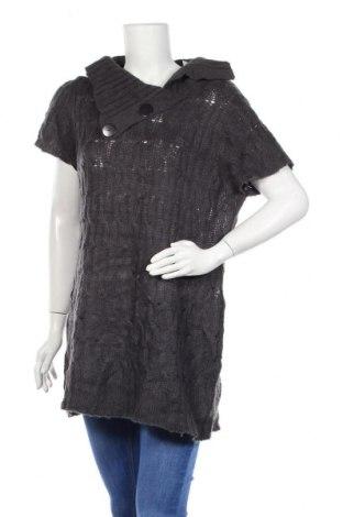 Дамски пуловер George, Размер L, Цвят Сив, Акрил, Цена 7,61лв.