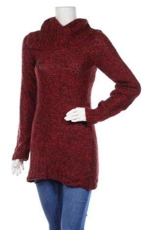 Дамски пуловер Gina Tricot, Размер S, Цвят Червен, Мохер, Цена 7,72лв.