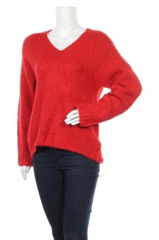 Дамски пуловер H&M, Размер XS, Цвят Червен, Цена 5,78лв.