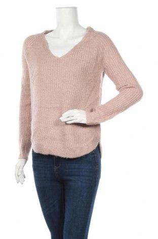 Дамски пуловер H&M, Размер S, Цвят Розов, 90% акрил, 10% мохер, Цена 8,82лв.