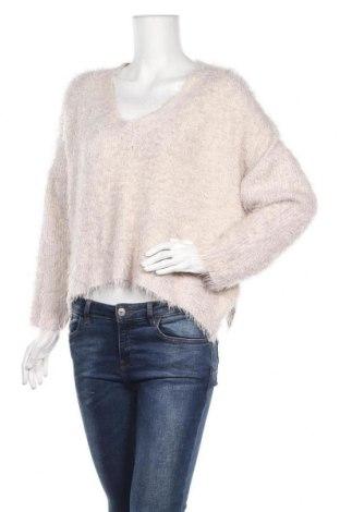 Γυναικείο πουλόβερ H&M, Μέγεθος M, Χρώμα  Μπέζ, 72% πολυαμίδη, 28%ακρυλικό, Τιμή 5,46€