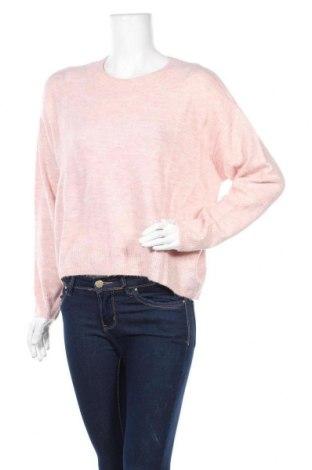 Дамски пуловер H&M, Размер M, Цвят Розов, 52% акрил, 30% полиамид, 11% полиестер, 5% еластан, 2% вълна, Цена 11,34лв.