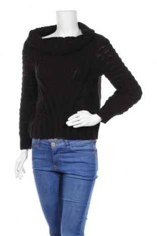 Дамски пуловер H&M, Размер M, Цвят Черен, 85% акрил, 15% вълна, Цена 6,30лв.