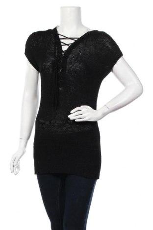 Дамски пуловер H&M Divided, Размер M, Цвят Черен, 63% вискоза, 37% полиамид, Цена 21,95лв.