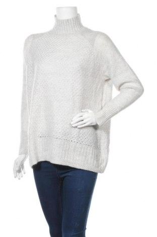 Дамски пуловер H&M L.O.G.G., Размер S, Цвят Сив, 60% акрил, 20% полиамид, 20% мохер, Цена 18,48лв.