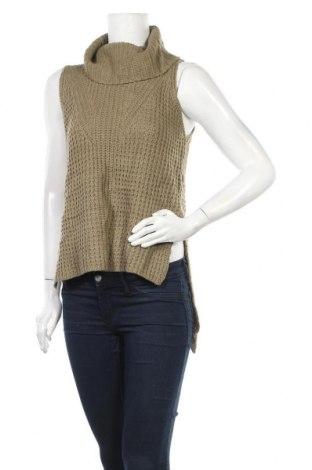 Дамски пуловер Ice, Размер S, Цвят Зелен, 65% акрил, 35% памук, Цена 5,25лв.