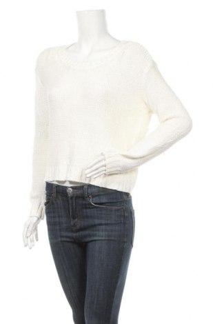 Дамски пуловер Jacob, Размер L, Цвят Бял, Акрил, Цена 5,78лв.