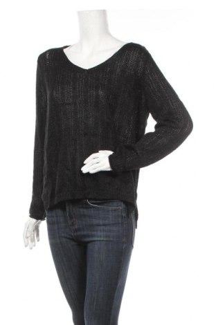 Дамски пуловер Jean Pascale, Размер M, Цвят Черен, 73% акрил, 21% полиамид, 6% полиестер, Цена 21,95лв.