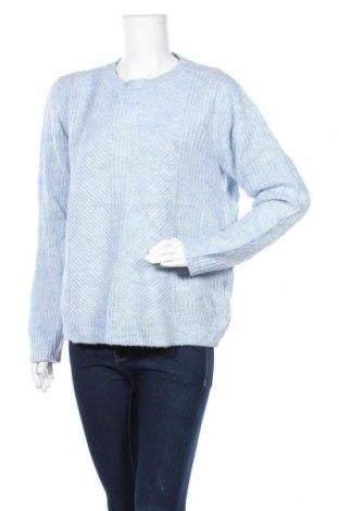 Дамски пуловер Joe Fresh, Размер L, Цвят Син, 94% акрил, 3% вълна, 3% мохер, Цена 16,17лв.