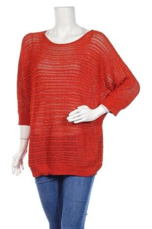 Дамски пуловер Jones New York, Размер XL, Цвят Оранжев, Цена 13,23лв.