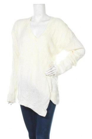 Γυναικείο πουλόβερ Justfab, Μέγεθος 3XL, Χρώμα Εκρού, Ακρυλικό, Τιμή 16,56€