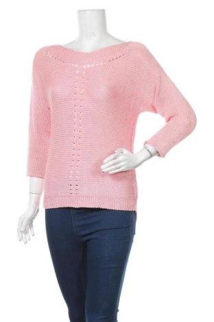 Дамски пуловер Kapalua, Размер M, Цвят Розов, Цена 24,94лв.
