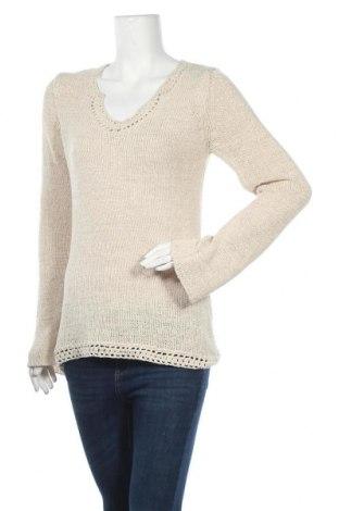 Γυναικείο πουλόβερ KappAhl, Μέγεθος M, Χρώμα  Μπέζ, 60%ακρυλικό, 40% πολυαμίδη, Τιμή 12,15€