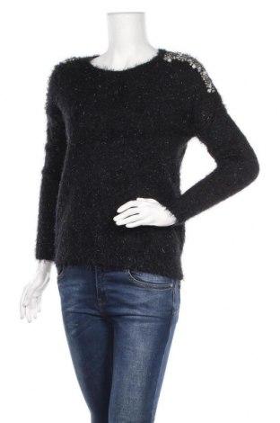 Дамски пуловер Katsumi, Размер S, Цвят Черен, 50% полиамид, 50% акрил, Цена 13,28лв.