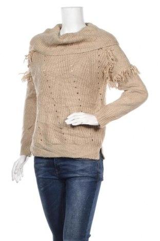 Дамски пуловер Knox Rose, Размер S, Цвят Бежов, Акрил, Цена 7,09лв.