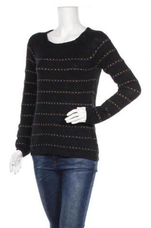 Γυναικείο πουλόβερ Loft By Ann Taylor, Μέγεθος M, Χρώμα Μαύρο, 45% βισκόζη, 41% βαμβάκι, 6%ακρυλικό, 5% πολυαμίδη, 3% άλλα νήματα, Τιμή 28,39€