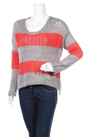 Дамски пуловер Love Always, Размер S, Цвят Сив, Акрил, Цена 7,35лв.