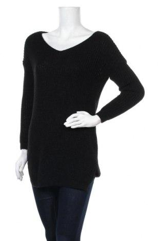Γυναικείο πουλόβερ Manoukian, Μέγεθος M, Χρώμα Μαύρο, Ακρυλικό, Τιμή 42,99€