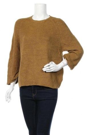 Дамски пуловер Meredith, Размер L, Цвят Кафяв, 50% мерино, 50% акрил, Цена 19,79лв.