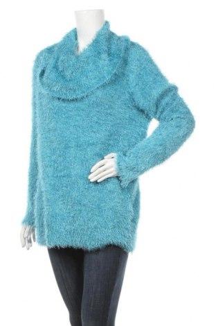 Дамски пуловер Millers, Размер M, Цвят Син, 86% полиестер, 14% полиамид, Цена 25,20лв.