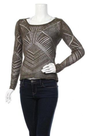 Дамски пуловер More & More, Размер M, Цвят Зелен, Лен, Цена 16,17лв.