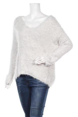 Дамски пуловер My Style, Размер L, Цвят Сив, 70% полиамид, 30% акрил, Цена 23,94лв.