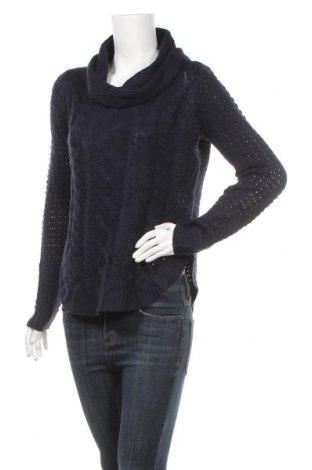 Дамски пуловер My Style, Размер M, Цвят Син, Акрил, Цена 25,20лв.
