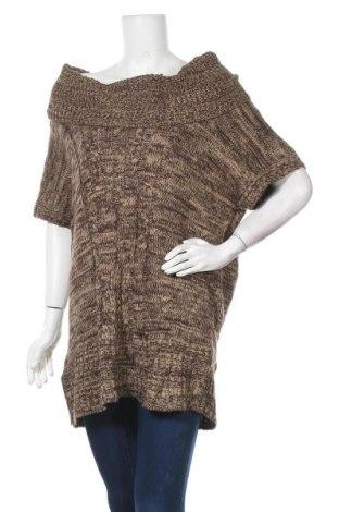 Дамски пуловер No Boundaries, Размер XL, Цвят Кафяв, Акрил, Цена 22,94лв.