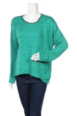 Γυναικείο πουλόβερ Ny Collection, Μέγεθος XL, Χρώμα Πράσινο, 64%ακρυλικό, 35% πολυεστέρας, 1% μεταλλικά νήματα, Τιμή 14,62€